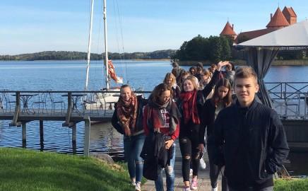 Vokietijos Duisburgo Alberto Einšteino gimnazijos mokytojų ir mokinių vizitas 2016 m.