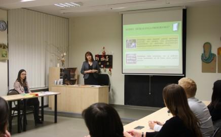 Lapkričio 22d. vyko I-ų klasių mokinių tėveliams skirtas mokomasis seminaras.
