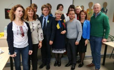 Ukrainos mokyklų pedagogų grupės vizitas. Atnaujinta