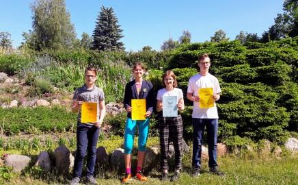 Respublikinis projektas ,,Kalbų Kengūra 2018'' lietuvių kalba