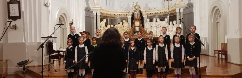 """Kovo 7-ąją vyks III-is Vilniaus miesto jaunučių chorų festivalis  """"Laisvės spalvos"""", skirtas Valstybės atkūrimo šventei – Kovo 11-ąjai."""