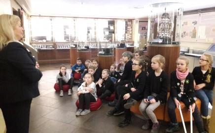 3a klasės išvyka į Vilniaus Pinigų muziejų