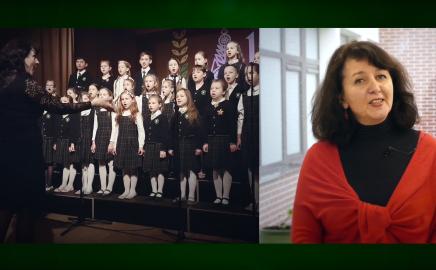 """Jaunučių chorų festivalis  – """"Laisvės spalvos"""" 2019."""