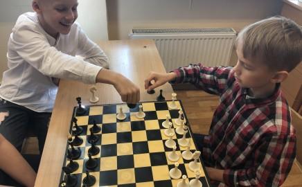 Geriausia smegenų mankšta – šachmatai !