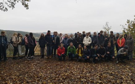 8d ir 8e kl. mokiniai dalyvavo kraštovaizdžio geografijos pamokoje-ekskursijoje