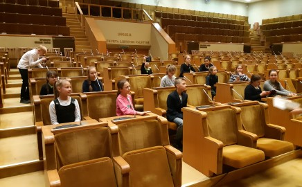 Ketvirtokų vizitas Seime