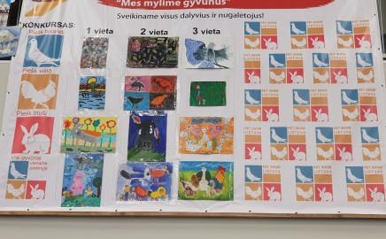 Miglė Birštunaitė laimėjo I-ąją vietą piešinių konkurse!