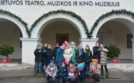 3 c klasės išvyka į Lietuvos teatro, muzikos ir kino muziejų
