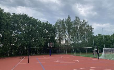 Dėl sporto erdvių atvėrimo bendruomenės nariams vasaros metu